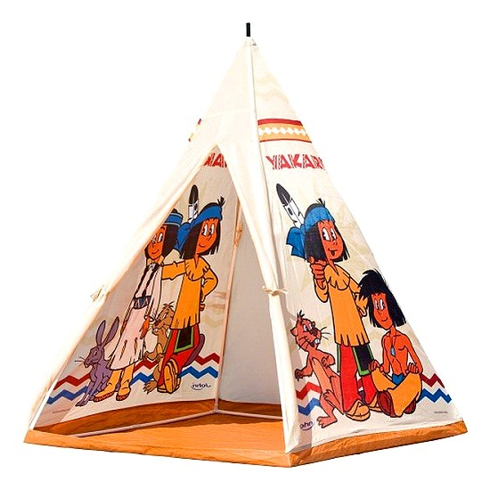 john 786 07 kinderzelt yakari tipi wigwam indianer zelt f r kinder ebay. Black Bedroom Furniture Sets. Home Design Ideas