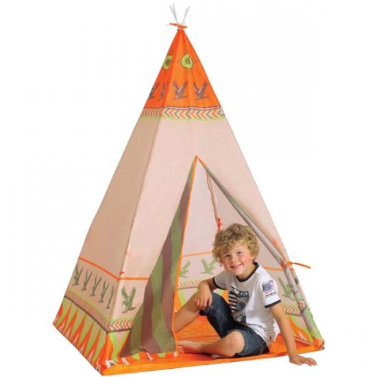 fivestars 452 12 kinderzelt tipi wigwam indianer zelt f r kinder ebay. Black Bedroom Furniture Sets. Home Design Ideas