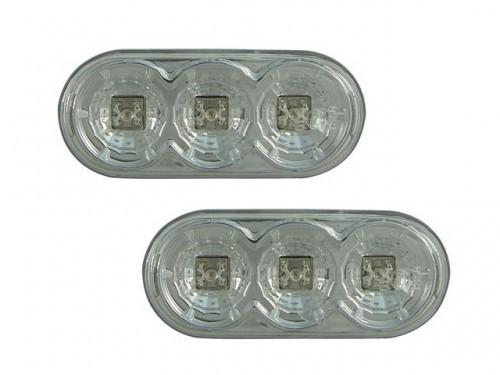 LED-Seitenblinker-CHROM-VW-Golf-4-IV-8-97-Blinker-NEU
